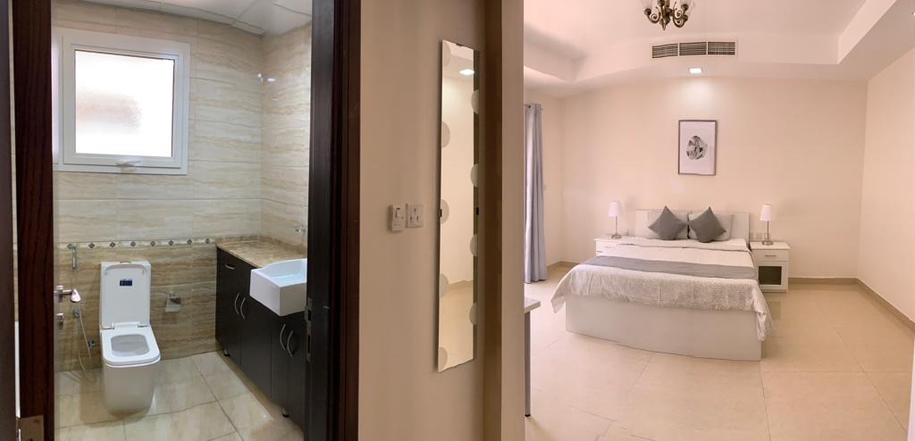 Live in luxury, Double Room With Private Garden, Exclusive Service, Professionals Only - JVC - Aed 3,200 PM incl all bills.