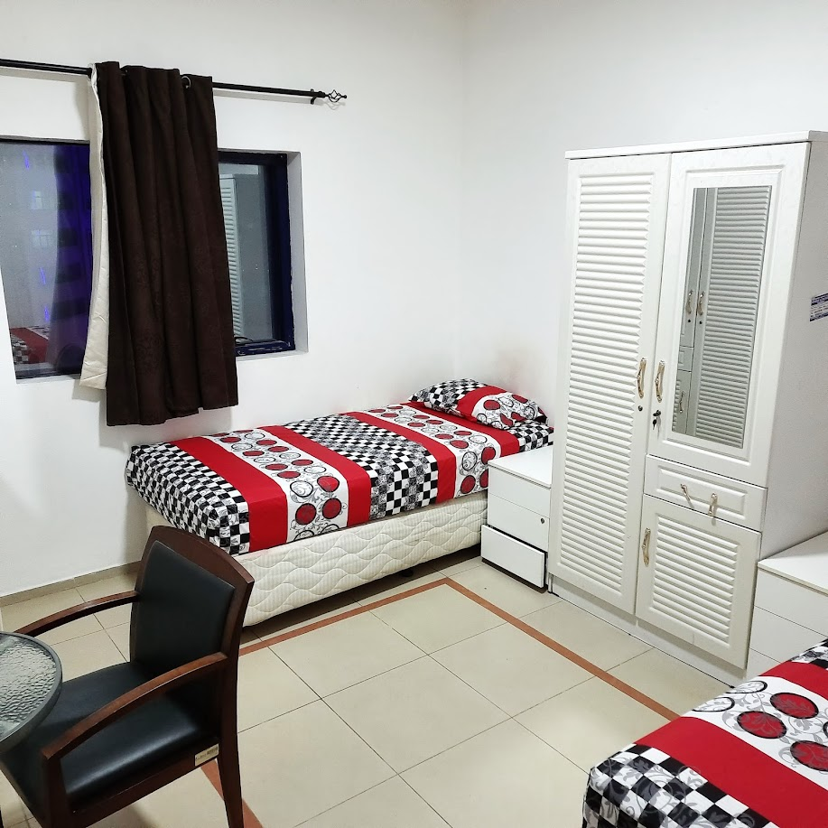 Luxury Gents Sharing Room For 2 Persons in Qasmiyah 900 AED