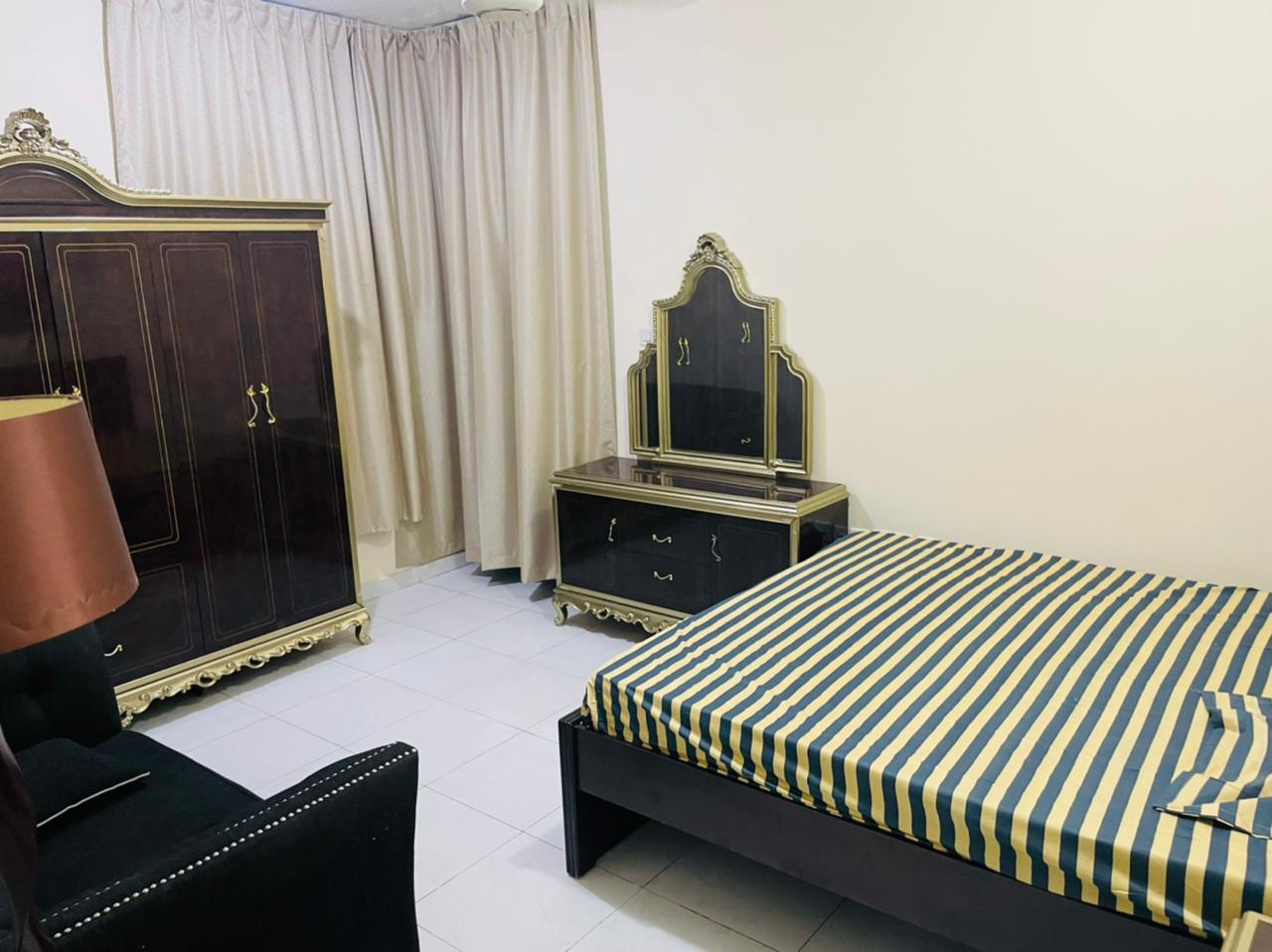 Well furnished master room with attached washroom and outside washroom available on monthly basis