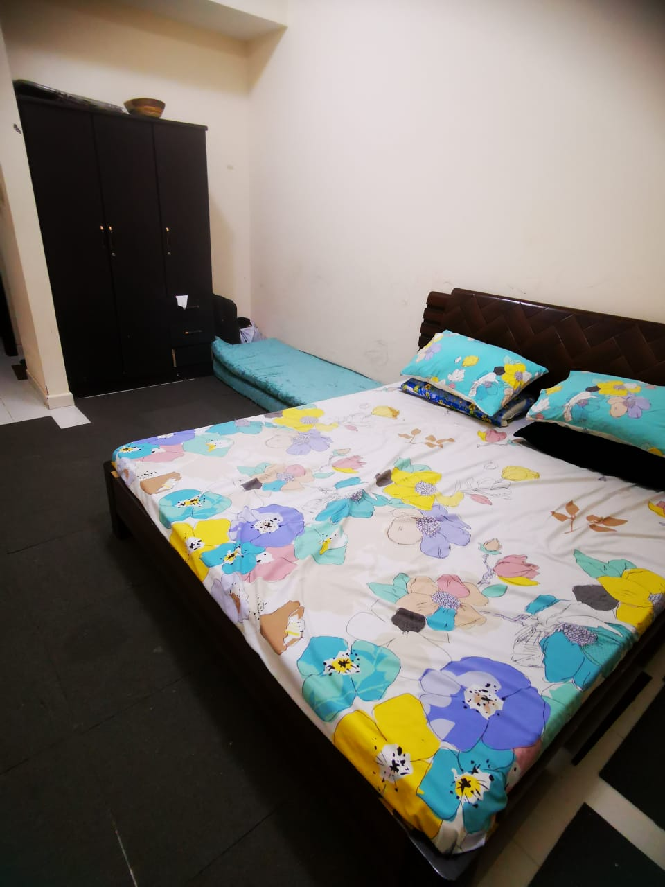 Well furnished Master bedroom with attached washroom