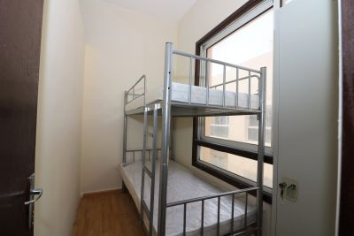 Clean Large rooms,bed space, partitions for LADIES ONLY